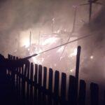 На Сарненщині вогонь знищив 22 тонни сіна