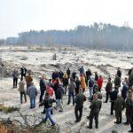 Народні депутати відвідали місця незаконного видобутку бурштину на Рівненщині