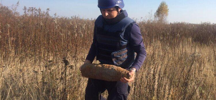 На Рівненщині піротехніки знищили реактивну міну та артснаряд
