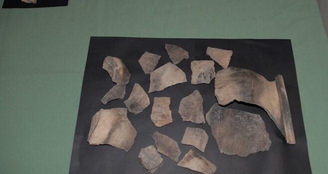 Цінні археологічні знахідки презентували в краєзнавчому музеї