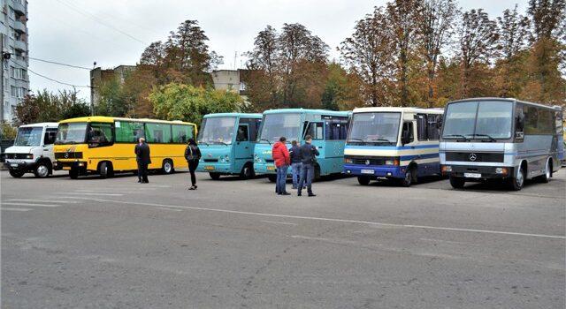 На Рівненщині визначили перевізників, які возитимуть пасажирів