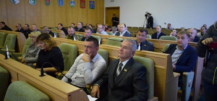 Заплановане позачергове засідання обласної ради сьогодні не відбулося