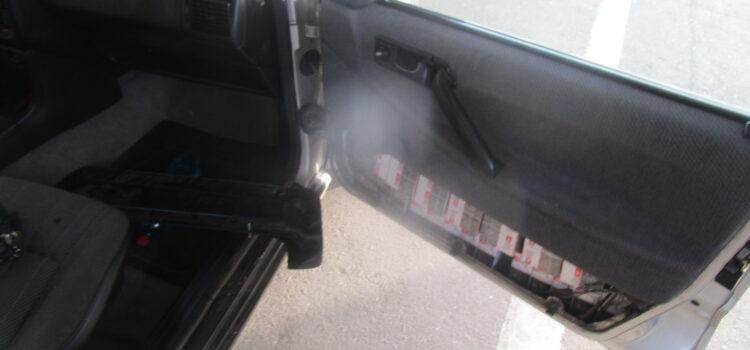 Рівненські митники вилучили в українця авто, через приховані цигарки