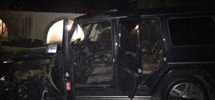 У Костополі депутату підпалили автомобіль