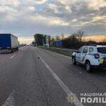 На Рівненщині смертельна ДТП:  під колесами вантажівки загинув чоловік