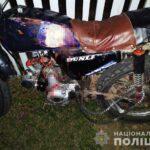На Рівненщині неповнолітній мотоцикліст збив велосипедистку