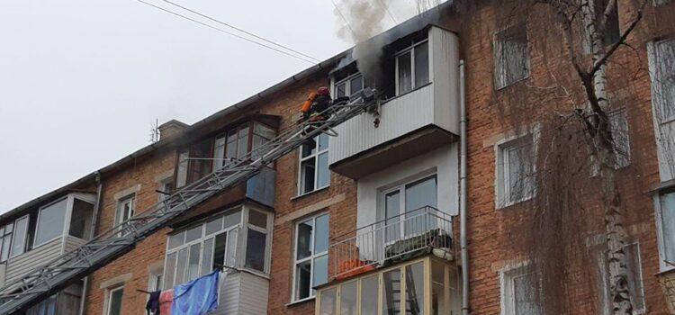 У Рівному через пожежу люди опинилися у димовій пастці