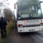 На автодорозі Київ-Чоп загорівся пасажирський автобус