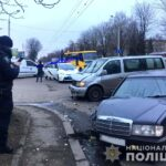 Внаслідок зіткнення двох авто у Рівному постраждало двоє осіб