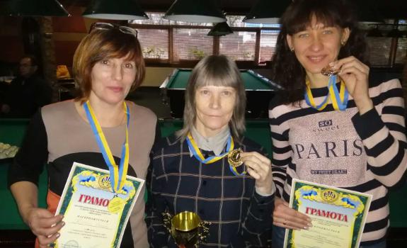 На чемпіонаті України з більярдного спорту рівнянка виборола ІІ місце