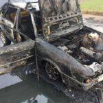 На Сарненщині згорів автомобіль