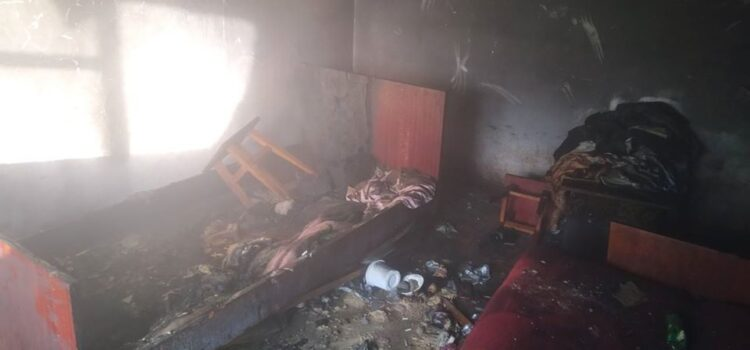 На Рівненщині під час ліквідації пожежі  вогнеборці виявили тіло чоловіка