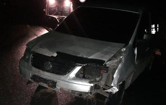 Поблизу Костополя нетверезий водій зіткнувся з дорожнім знаком