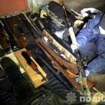 У Рівному поліцейські вилучили понад 10200 одиниць зброї та боєприпасів