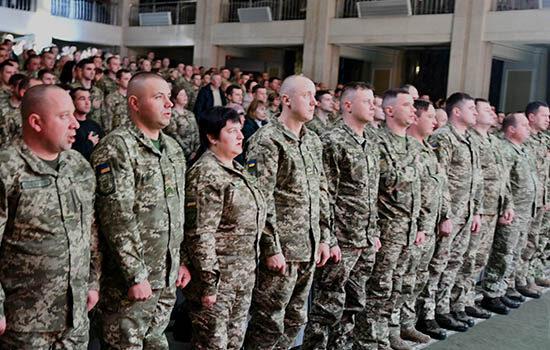 У Рівному вітали військових