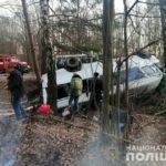 У поліції розповіли деталі ДТП в якій постраждали пасажири маршрутки