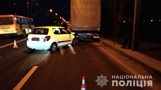 У ДТП на Макарова у Рівному постраждала пасажирка легковика