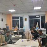 Мистецькі роботи ветеранів АТО/ООС з Клеванського госпіталю презентують народним депутатам